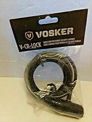 Vosker Security Cable Lock For Mobile Security Cameras 6 Foot Cable With 2 Keys