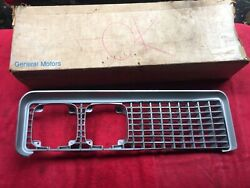 1969 Buick Electra 225 Nos Driver's Side Lh Left Hand Grille In Gm Box 1385917