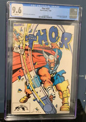 Thor Comic 337 1983 Cgc 9.6 White Pages 1st Appearance Beta Ray Bill