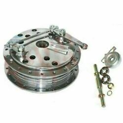Royal Enfield Norton Twin Leading Shoe 7and039and039 Front Brake Drum Hub Assey