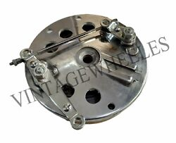 Triumph Norton Re Bullet Classic Twin Leading 7 Polished Front Brake Drum Assy