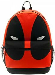NWT NEW Marvel DC Comics Deadpool Mask Backpack School Book Bag Movie $19.97