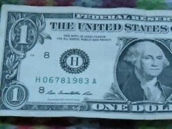 Beauty Cool Fancy Serial Number 1983 Birthday Anniversary Year 1 Us Banknote