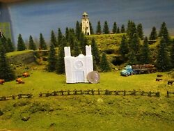N Scale Church Structure Hand-painted