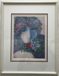 Barbara A Wood One Rose Signed Limited Edition Print 492/975