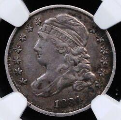 1834 Capped Bust Dime Small 4 Ngc Xf 40 Lovely Unmolested Wholesome Circ Example
