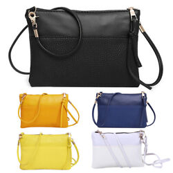 New PU Leather Women Litchee Patern Small Bags Shoulder Bag Crossbody Bag $7.05