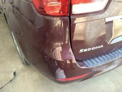 Rear Bumper Without Stainless Accent Plate Fits 15-18 Sedona 809401