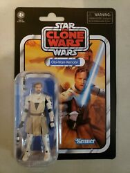 Star Wars The Vintage Collection VC103 Clone Wars OBI WAN KENOBI 3.75quot; Figure $17.99