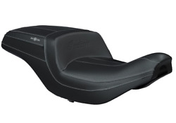 Indian Motorcycle Durable Black Vinyl Climacommand Heating Cooling Rogue Seat