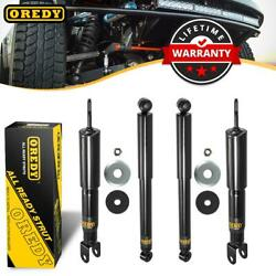 4 Front Rear Set Shocks Strut 344381 344384 For Chevy Avalanche 1500 4wd 02-06