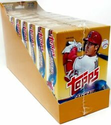 2018 Topps Update Baseball Hanger 8 Box Case Ohtani Acuna Soto Torres Rookie