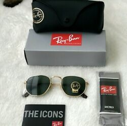 New Authentic Ray Ban Hexagonal RB3548 $59.99