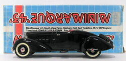Minimarque 43 1/43 Scale Cs1a - 1934 Packard Boat Tail Speedster Clark Gable