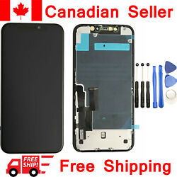Screen Replacement For Iphone 11 A2111 A2223 A2221 Frame Display Lcd