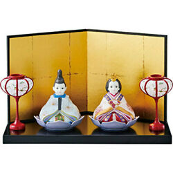 Noritake Japan Emperor And Empress Hina Doll Wishing For Childrenand039s Healthy Growth