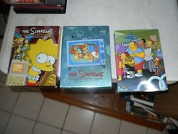 The Simpsons Various Assorted Complete Seasons Movie Dvd Lot 1,2,9 + Mystery