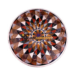 30 Black Marble Table Top Center Coffee Mosaic Lapis Inlay Home Decor G970