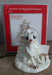 2012 Carlton Cards Heirloom Rudolph The Red Nosed Reindeer Ornament In Box
