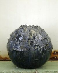Christina Muff B. 1971. Hand Modelled Stoneware Vase From The 'seed' Series.