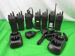 Motorola Mt1500 Radios - 800 Mhz And 1000 Lot Of 7 - Untested