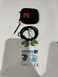 Ultimate Hearing Protection G Series Ear Plugs Listen To Music Silicone Small