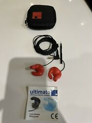 Ultimate Hearing Protection G Series Ear Plugs Listen To Music Silicone Large