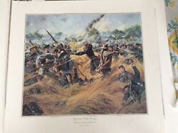 Don Troiani Saving The Flag Signed By The Artist Collectible Civil War Print