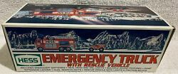 Hess 2005 Emergency Truck With Rescue Vehicle New In Original Box