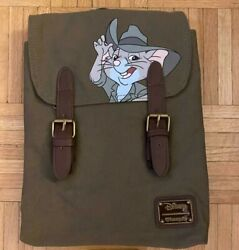 RARE HTF Loungefly Disney The Rescuers Down Under Jake Mini Backpack*NWT $499.00