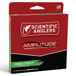 Scientific Anglers Amplitude Smooth Creek Trout Fly Line - All Sizes - Free Ship
