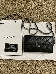 Authentic Chanel wallet on chain $750.00