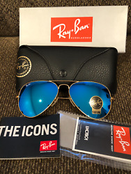 New Authentic Ray Ban Avatior Sunglass RB3025 $59.99