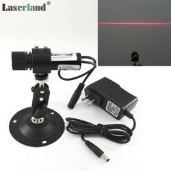 Laserland 2270 Focusable 650nm 660nm 40mw Red Line Diode Laser Locator Module