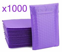 1000 Bubble Mailers Purple 6x10 Packaging Shipping Supplies Envelope 0
