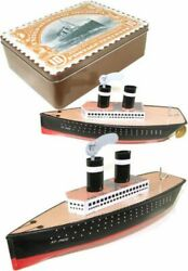 Schylling-st.paul Ocean Liner American Postal Collection Commemorative Tin Toy-