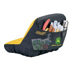 Riding Mower Seat Cover Protection John Deere Foam Seat Backpocket Tractor Lawn