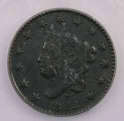 1823/2-p 1823/2 Coronet Head Cent 1c Icg Vf35 Details Really Nice Looking Coin