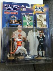 Nolan Ryan And Walter Johnson 1998 Series Classic Doubles Starting Lineup Yankees
