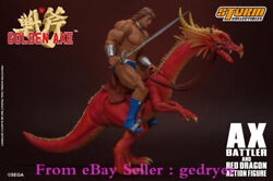 Storm Toys Arcade Golden Axe 1/12 X. Balart And The Red Dragon Action Figure