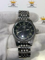 Oris Big Crown Pointer 7679 Automatic Winding Steel Black Dial Menand039s Watch Gift