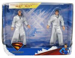 2006 Mattel DC Superman Returns The House of EL JOR EL amp; KAL EL Action Figures