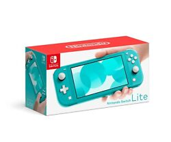 Turquoise Nintendo Switch Lite 32gb Handheld Video Game Console - New [in Box]