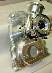 Billet Ls Chevy Timing Cover With Rcd Magneto/fuel Pump Drive And Extension