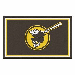 Fanmats Mlb - San Diego Padres 4x6 Rug 44x71, One Size, Multi
