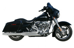 Chrome Thunderheader 2 - 1 High Performance Exhaust Pipe System Harley Touring