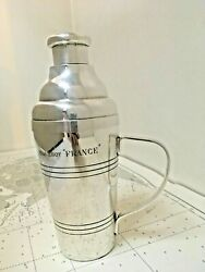 Rare Cocktail Shaker By Christofle From Paquebot France Ship French Lines Cgt