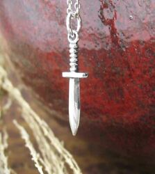Tiny Athame Pendant Only - Wicca Wiccan Pagan Knife Dagger Sword Altar Wh304