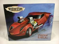 Hot Wheels 124 Motorized Legends To Life Twin Mill Limited Edition Low 29 Mint