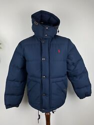Polo Elmwood Down Fill Hooded Puffer Coat Jacket Various Colours